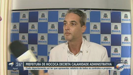 Prefeito de Mococa decreta estado de calamidade administrativa