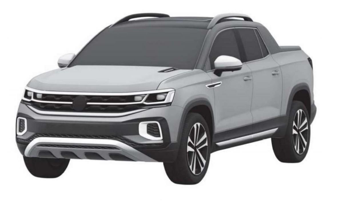 Volkswagen registers Fiat Toro rival Tarok pickup