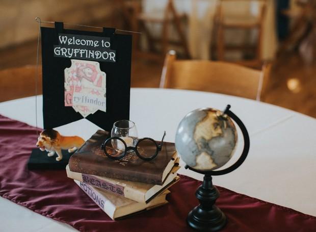 A escola de Harry, Hermione e Rony são os estudantes principais da Grifinória (Foto: Lorena Burns Photography)
