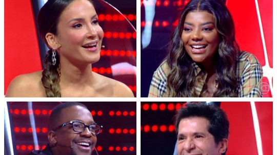 Claudia Leitte, Daniel, Ludmilla e Mumuzinho comentam sobre a emoção do 'virar das cadeiras' no 'The Voice +'