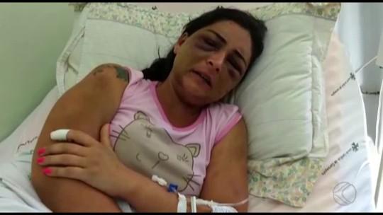 Mulher agredida e abandonada em estrada do ES recebe alta e deixa hospital em Carangola