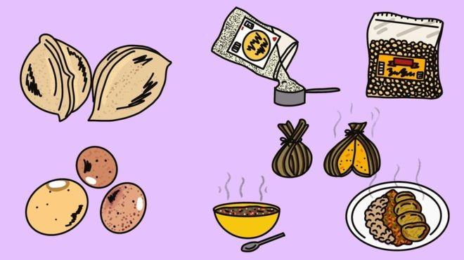 O feijão-bambara é de fácil cultivo e uma boa fonte de proteína (Foto: STACY MICHELSON/BBC)