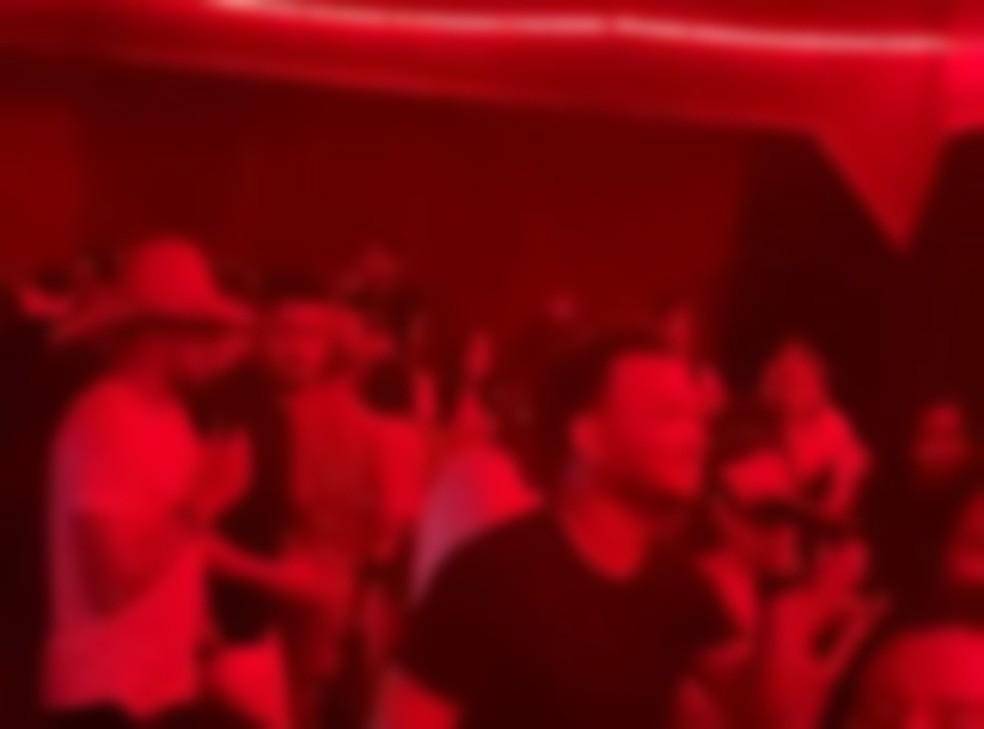 Festa clandestina em Porto Velho — Foto: Reprodução/Redes Sociais