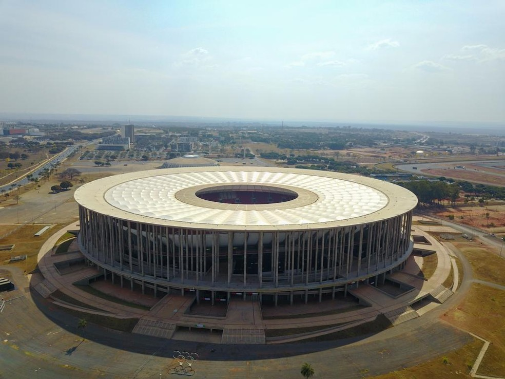 Estádio Mané Garrincha — Foto: Lucas Magalhães