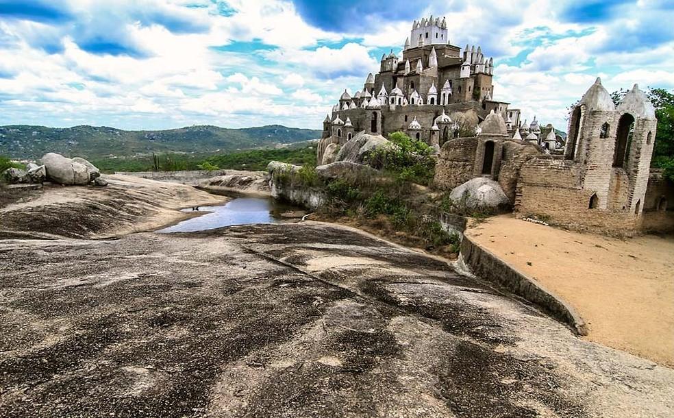 Construção começou em 1984 — Foto: Canindé Soares