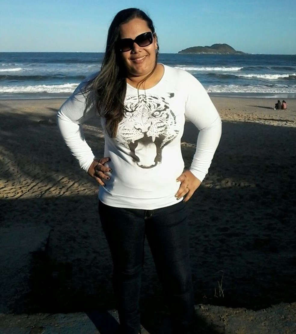 Familiares passaram dias procurando por mulher que desapareceu em Guarujá, SP — Foto: Reprodução/Facebook