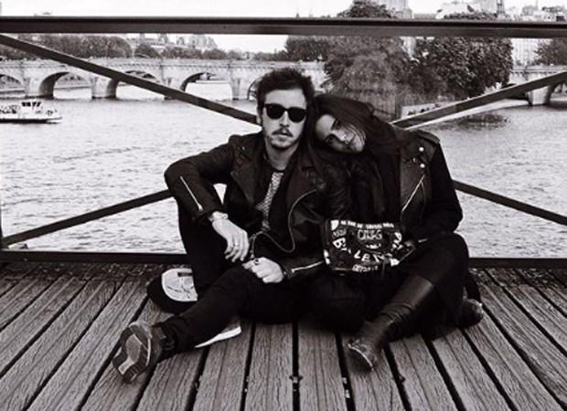 Wagner Santisteban e Antonia Morais (Foto: Reprodução/Instagram)