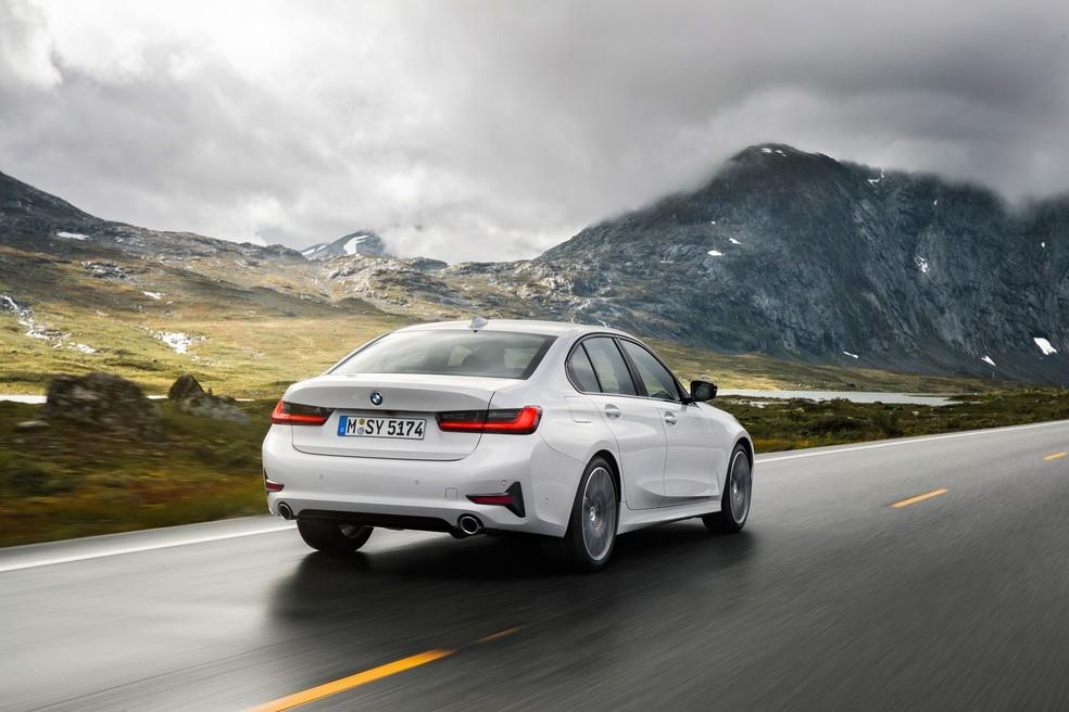 BMW Série 3 — Foto: Divulgação