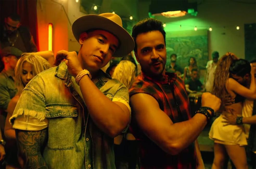 Daddy Yankee (esquerda) e Luis Fonsi, parceiros em 'Despacito' (Foto: Divulgação)