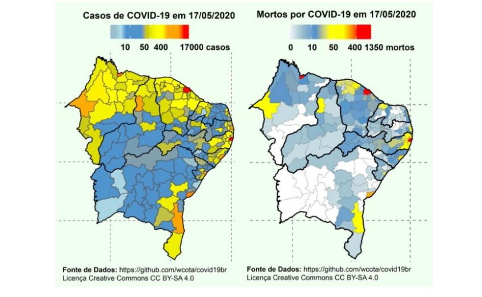 Comitê Científico do Nordeste sugeriu lockdown em cidades do Rio Grande do Norte — Foto: Reprodução
