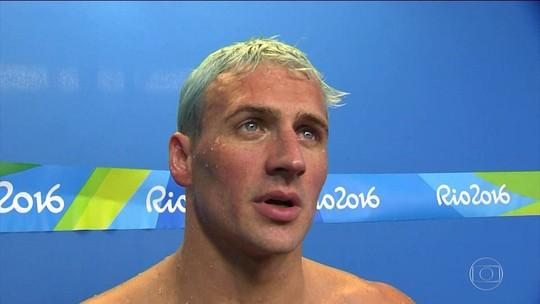 Nadador americano Ryan Lochte é suspenso por uso de vitaminas injetáveis em dose proibida