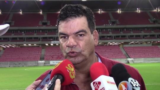 """Após revés, técnico destaca """"time cascudo"""" e crê em classificação do América-RN"""