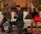 Eri Johnson, Marcelo Serrado e Heloísa Perissé em cena | Reprodução