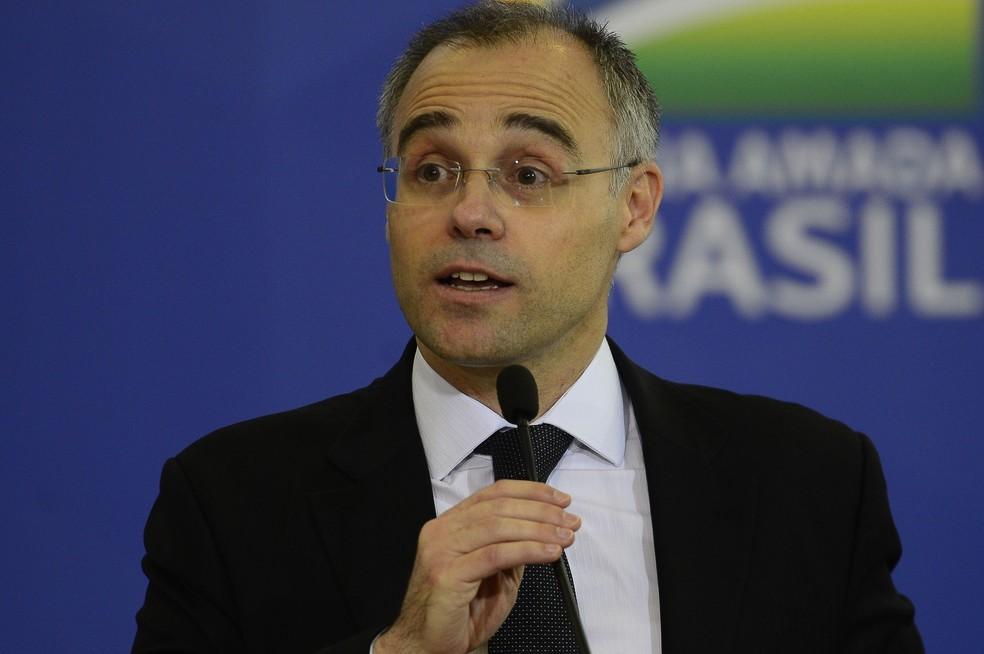 André Mendonça, novo ministro da Advocacia-Geral da União — Foto: Marcello Casal Jr./Agência Brasil