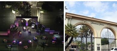 Suspeito de agressão sexual é preso após tiroteio em Hollywood  (Twitter/Getty Images)