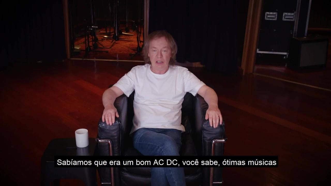 Veja versão estendida da entrevista com AC/DC