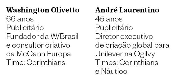 André Laurentino  e Washington Olivetto (Foto: Época)