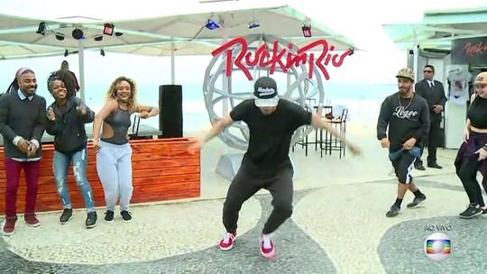 Quiosque do Rock in Rio é inaugurado em Copacabana