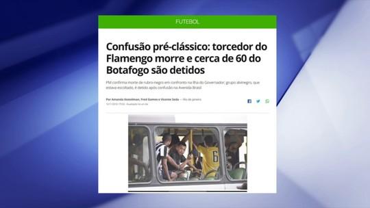 """Cereto critica falta de atitude dos clubes com as organizadas: """"Tem que colocar o dedo na ferida"""""""