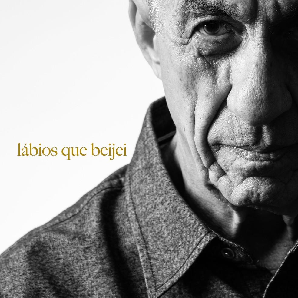 Capa do single 'Lábios que beijei', de Fagner — Foto: Jorge Bispo
