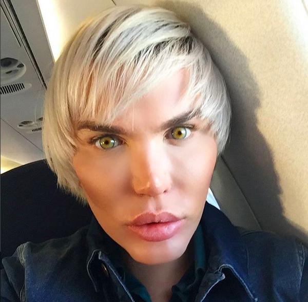 O brasileiro Rodrigo Alves, conhecido como Ken Humano (Foto: Instagram)