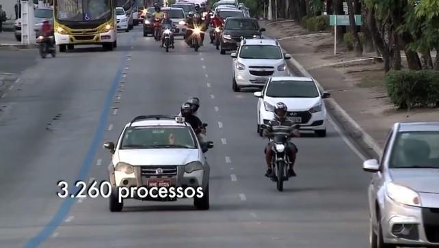 Número de processos para suspensão de habilitação aumenta em Alagoas  - Noticias