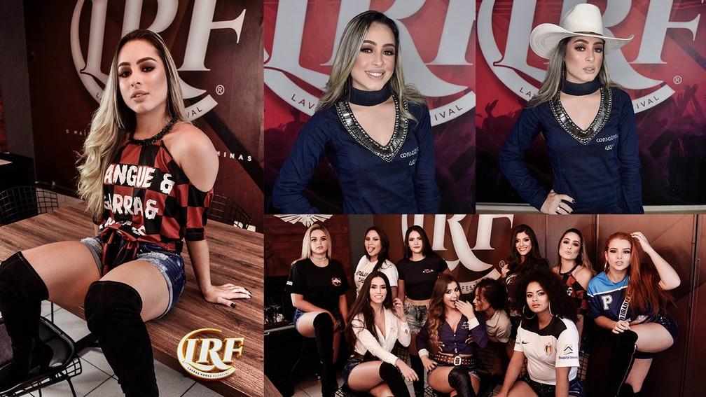 Thayná Alvarenga, candidata à rainha do Lavras Rodeo Festival 2019 — Foto: Clinton Barbosa