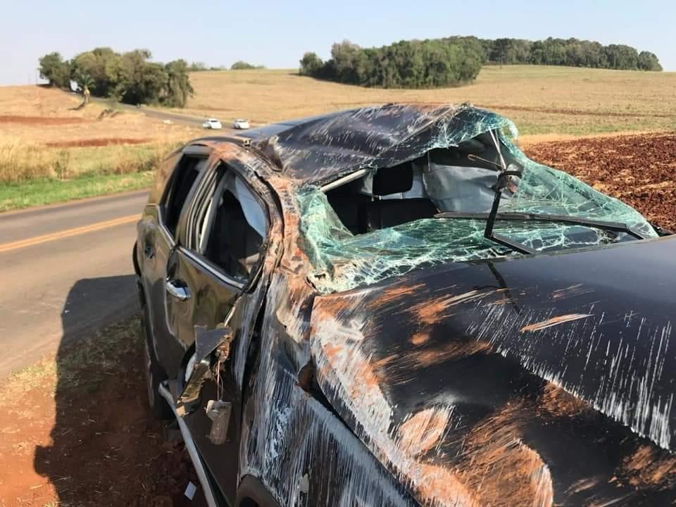 Prefeito de Pato Branco e esposa sofrem acidente de carro na região sudoeste do Paraná - Notícias - Plantão Diário
