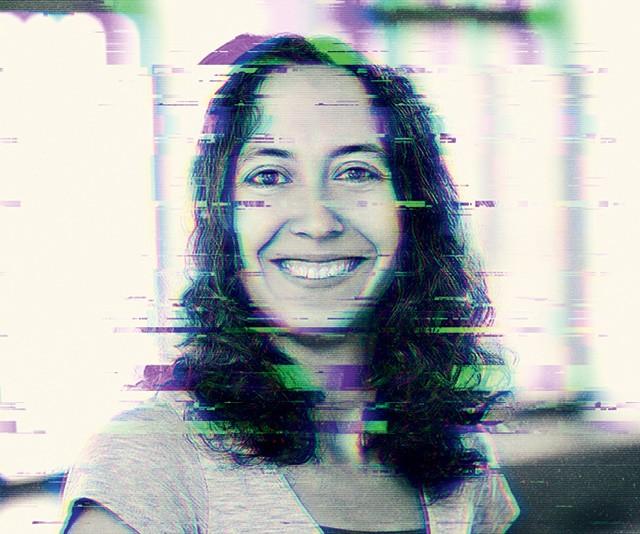 A cientista Olga Russakovsky contou com a ajuda de Fei-Fei na construção de sua autoconfiança (Foto: Intervenção gráfica sobre foto de David Kelly Crow)
