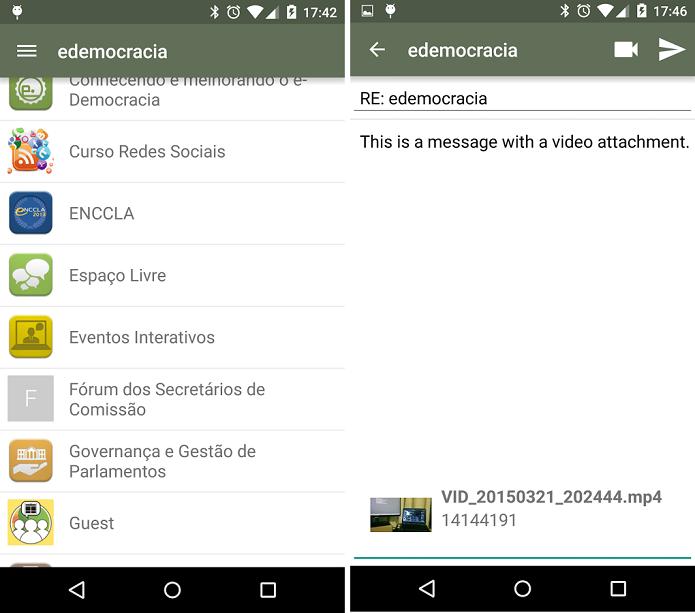 e-democracia é o portal oficial de participação popular da Câmara dos Deputados (Foto: Divulgação)