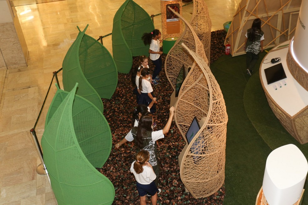 Escolas podem agendar visita ao Conexão Estação Natureza 2017 (Foto: Mila Maluhy)