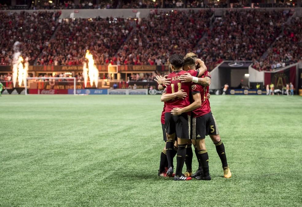 Com a ótima campanha em casa, Atlanta United já está garantido nos playoffs (Foto: Reprodução Twitter)
