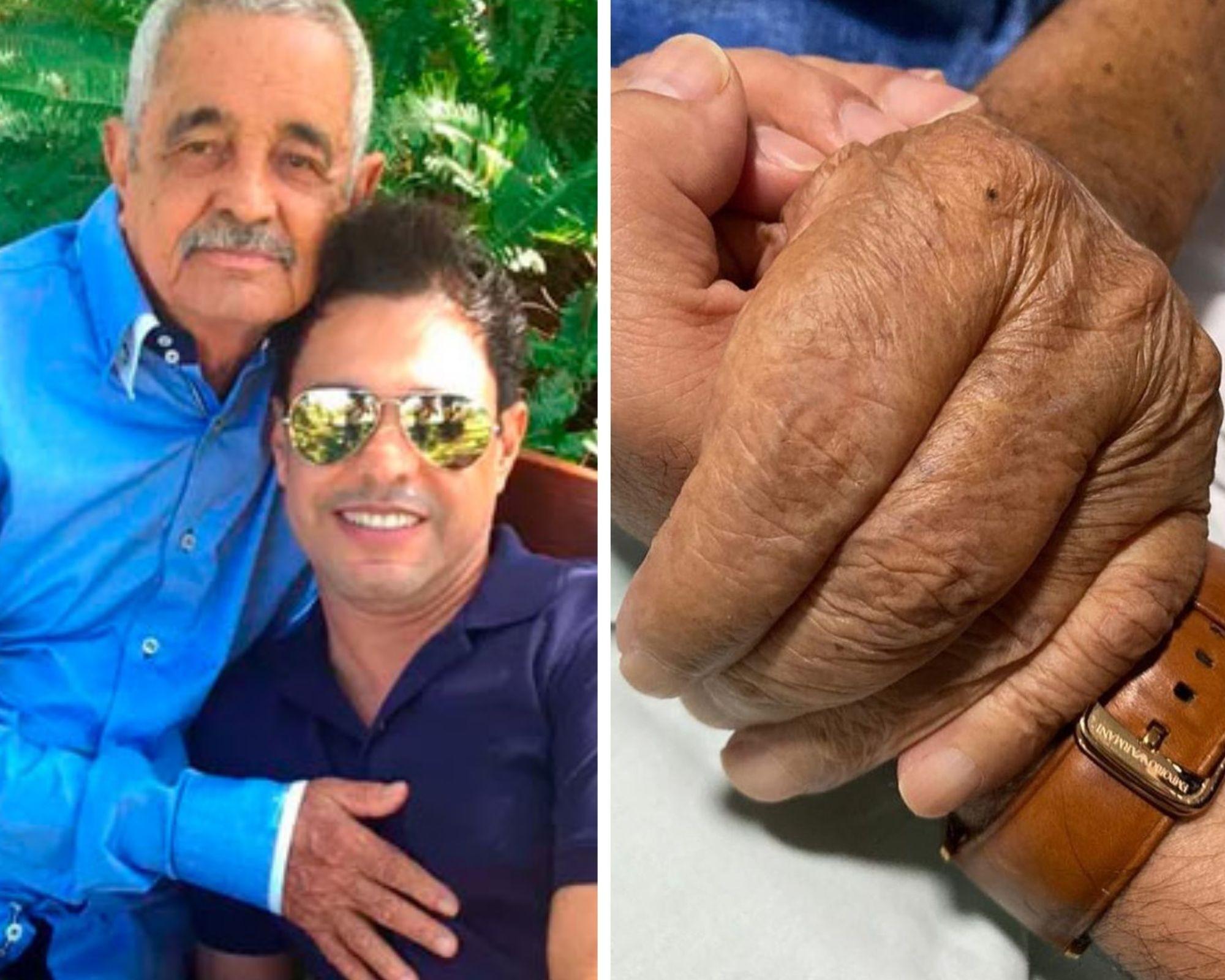 Zezé di Camargo se despede do pai, Seu Francisco, em texto emocionante (Foto: Reprodução/Instagram)