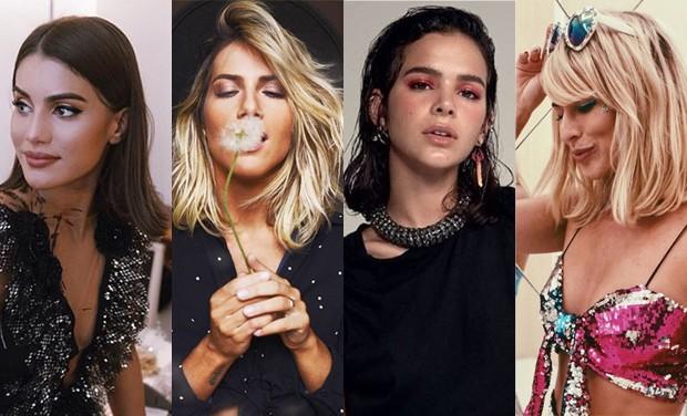 Camila Coelho, Giovanna Ewbank, Bruna Marquezine e Fernanda Paes Leme (Foto: Reprodução )