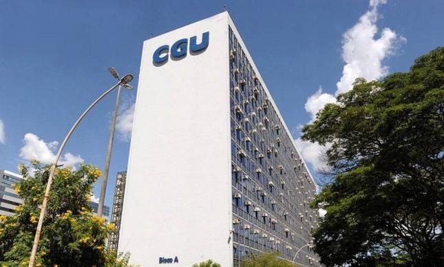 Fachada do prédio da CGU, responsável pela fiscalização da transparência dos órgãos federais