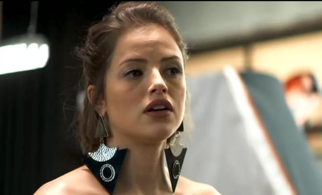 'A dona do pedaço': Agatha Moreira é Josiane (Foto: TV Globo )