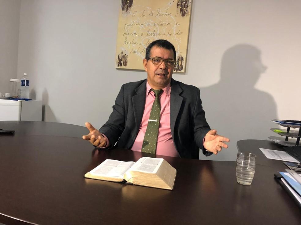 Vereador disse que se expressou mal — Foto: Heitor Moreira / TV Anhanguera