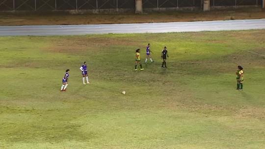 Golaço e frangaço marcam a semifinal do Estadual Feminino de Futebol no AP