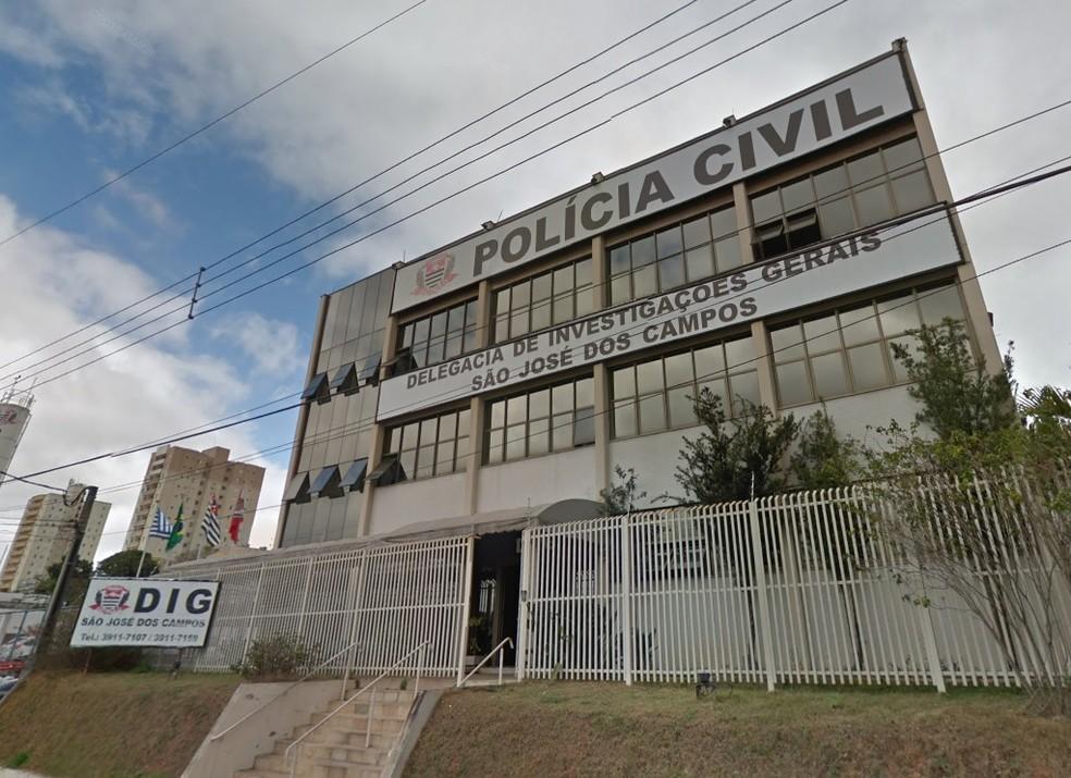 Caso é investigado pela DIG de São José dos Campos — Foto: Reprodução/ Street View