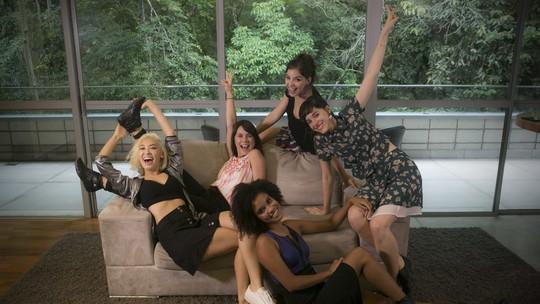 Protagonistas de 'Malhação' celebram amizade e sucesso após temporada de trabalho na TV