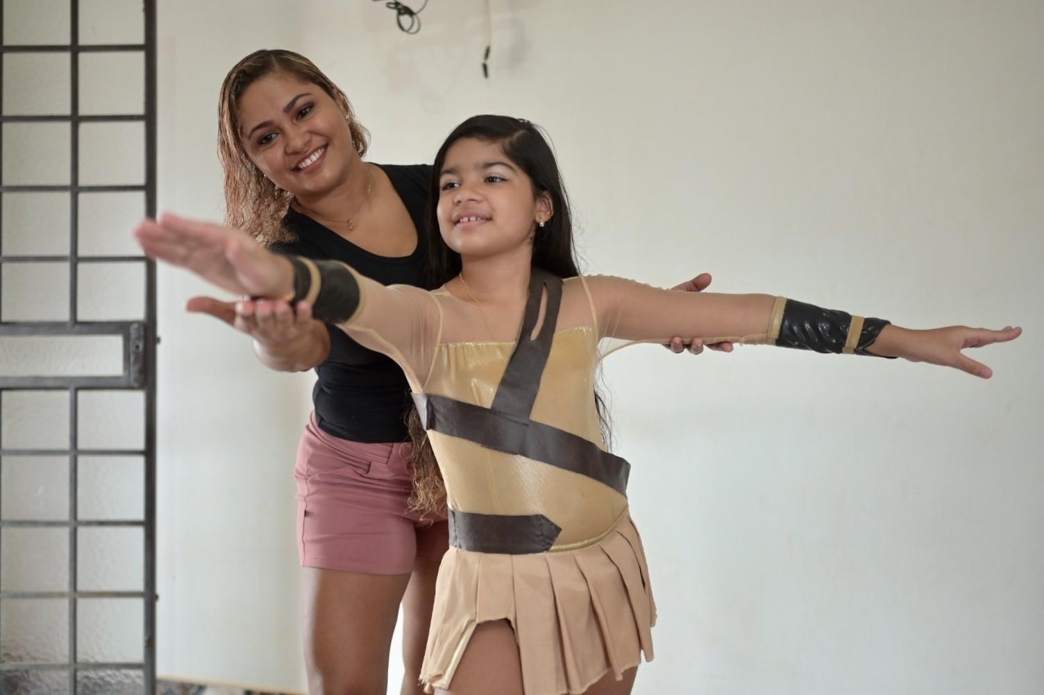 Mãe e filha: quando o amor pela dança vira coisa de família