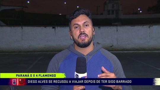 """Após Mattos, Bandeira reage e cita lista de erros contra o Fla e a favor do Palmeiras: """"Coisa ridícula"""""""