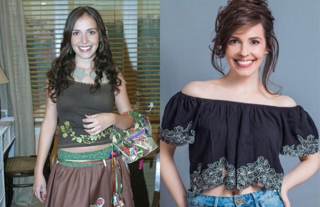 Camila dos Anjos interpretou Roberta e fez par com Fabricio Santiago. Ela integrou o elenco de 'Cúmplices de um resgate', do SBT, entre 2015 e 2016, e está em cartaz com a peça 'Memórias (não) inventadas', em São Paulo (Foto: Robson Moreira e Yuri Mine )