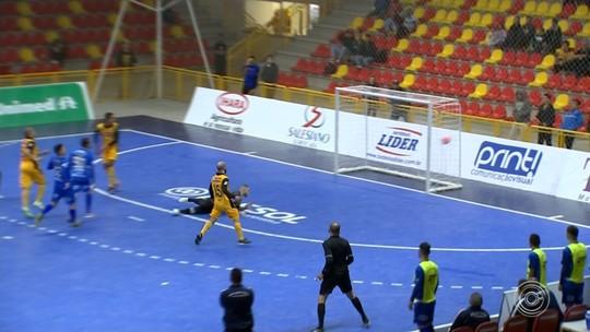Sorocaba vence no sufoco, elimina São José e vai à final do Campeonato Paulista de Futsal
