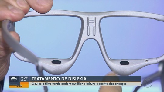 Pesquisadores brasileiros e franceses criam óculos que ajuda disléxicos