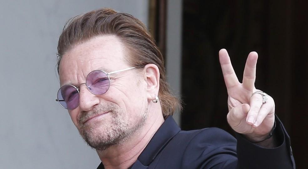 Bono Vox: cantor é um dos grandes ativistas de causas ambientais e sociais — Foto: Divulgação/Acervo pessoal