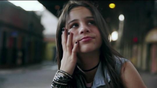 Valentina Francisco, de 12 anos, grava música inédita de Cazuza