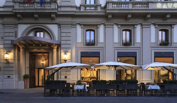 Hotel Savoy fica localizado em Florença, na Itália (Foto: Divulgação)