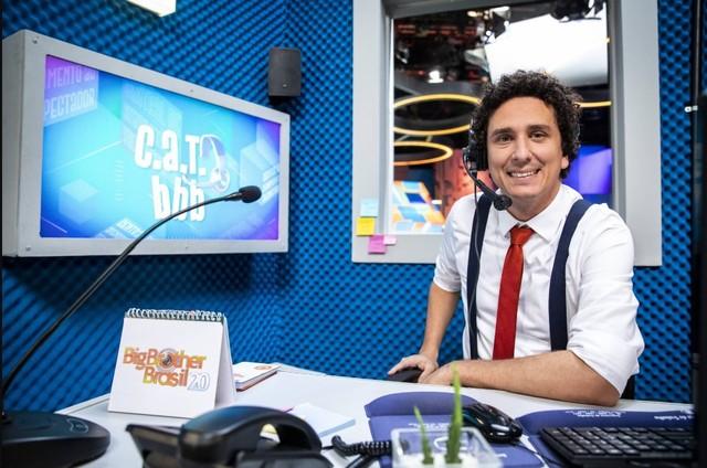 Rafael Portugal no 'CAT BBB' (Foto: Divulgação)