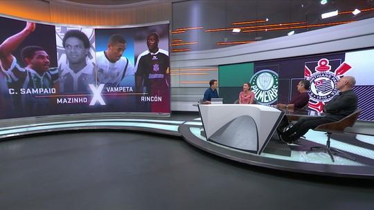 Quem é melhor entre os ídolos de Palmeiras e Corinthians? Alex x Marcelinho e mais; vote